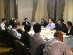九月議会始まる 河村市長に予算要望